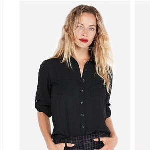 Express black Portofino shirt🖤